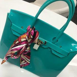 Handbags - Teal beachkin